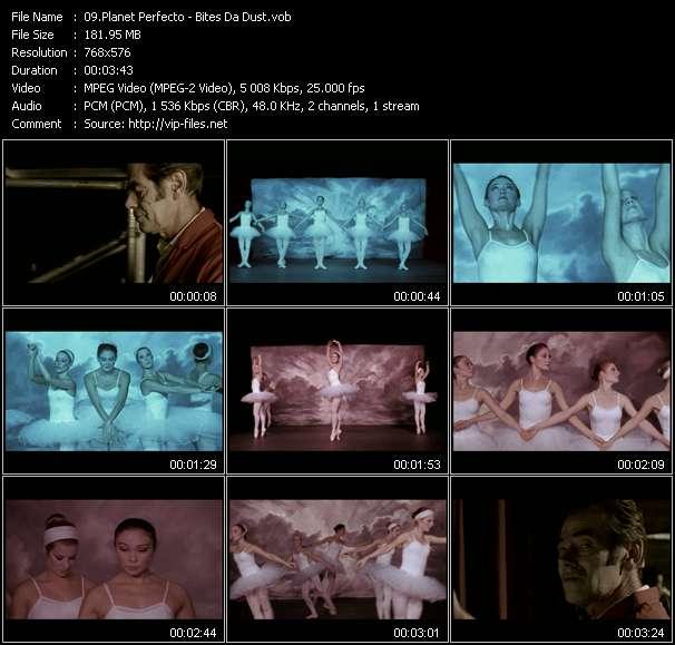 Screenshot of Music Video Planet Perfecto - Bites Da Dust