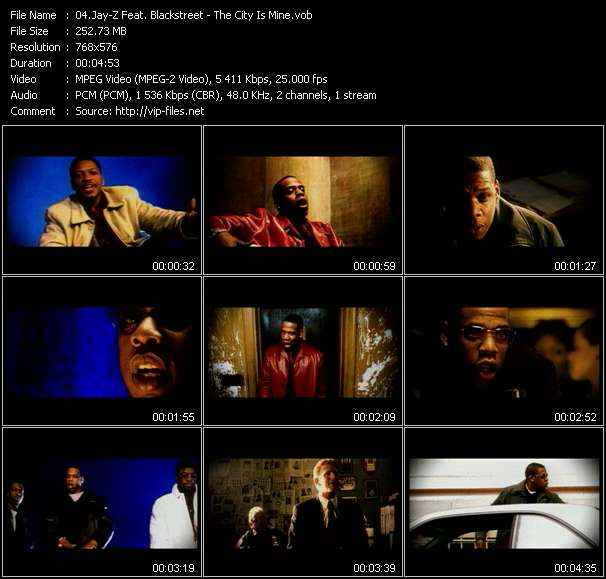 Screenshot of Music Video Jay-Z Feat. Blackstreet - The City Is Mine