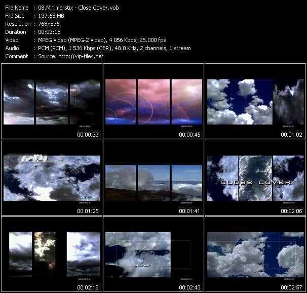 Screenshot of Music Video Minimalistix - Close Cover