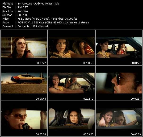 Screenshot of Music Video Puretone - Addicted To Bass