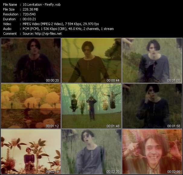 Screenshot of Music Video Levitation - Firefly