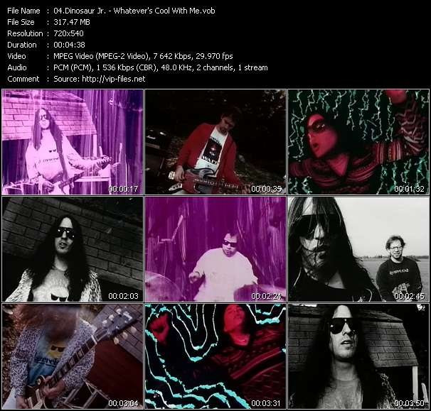 Screenshot of Music Video Dinosaur Jr. - Whatever's Cool With Me