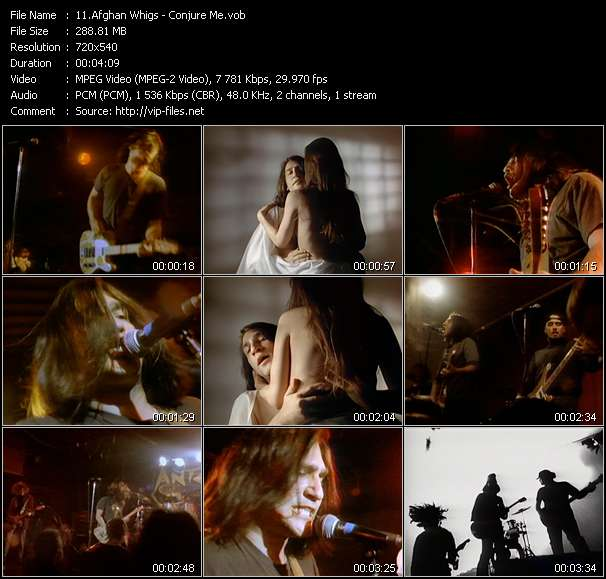 Afghan Whigs video vob