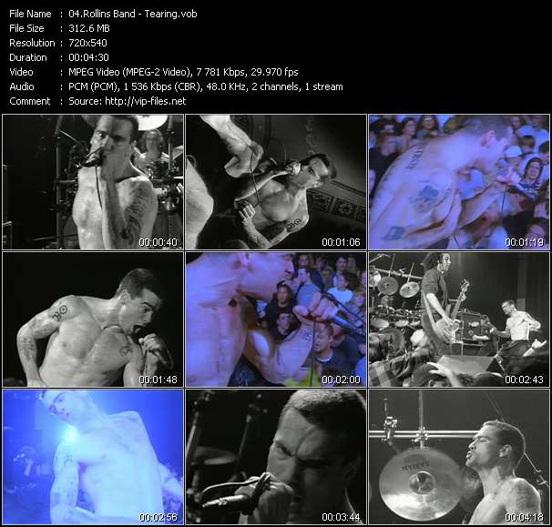 Rollins Band video vob