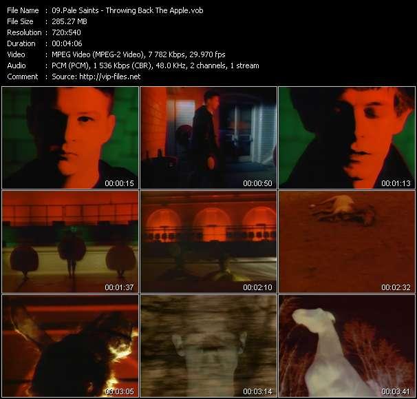 Pale Saints video vob