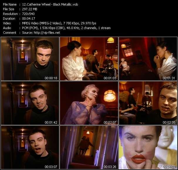 Screenshot of Music Video Catherine Wheel - Black Metallic