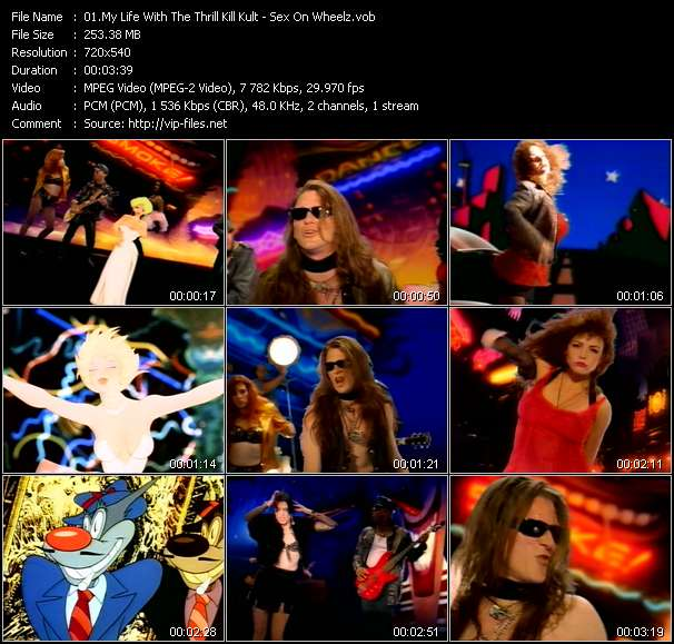 My Life With The Thrill Kill Kult video vob