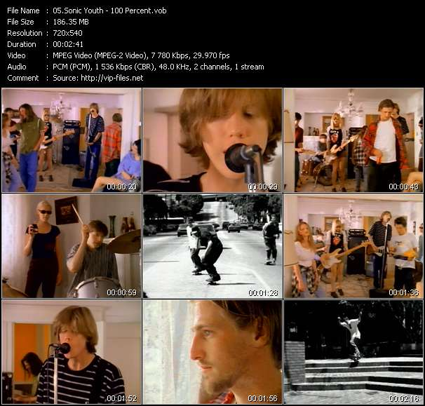 Sonic Youth video vob