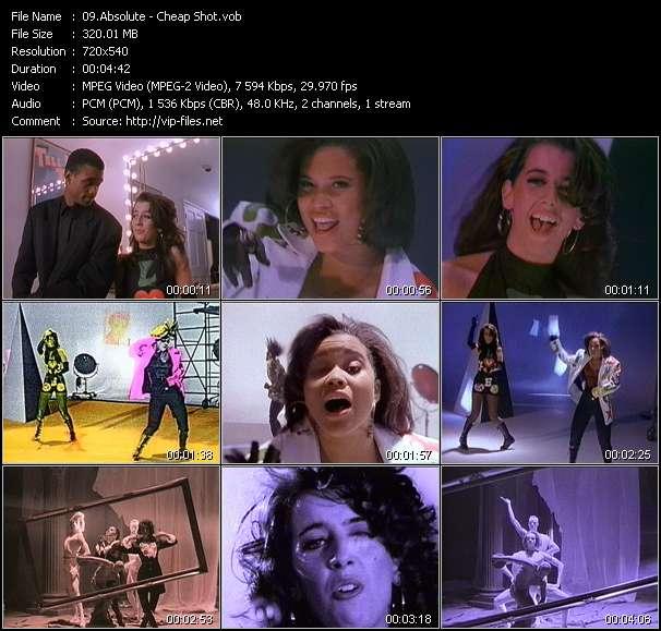 Screenshot of Music Video Absolute - Cheap Shot