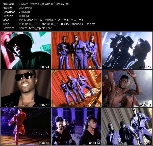 Screenshot of Music Video Guy - Wanna Get With U (Remix)