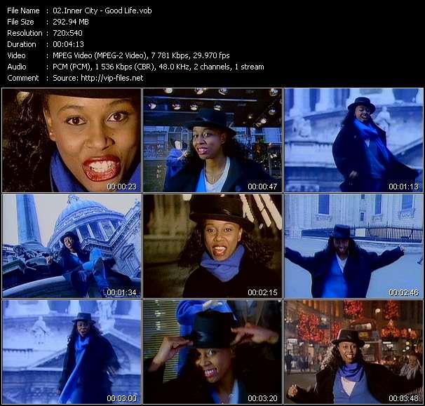 Screenshot of Music Video Inner City - Good Life