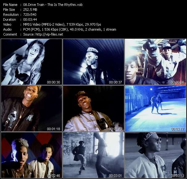 Screenshot of Music Video Drive Train - This Is The Rhythm
