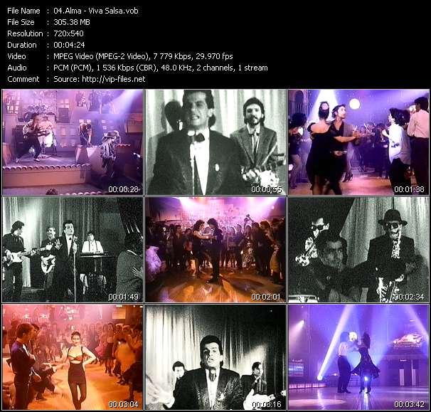 Screenshot of Music Video Alma - Viva Salsa