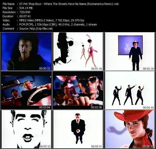 Pet Shop Boys video vob
