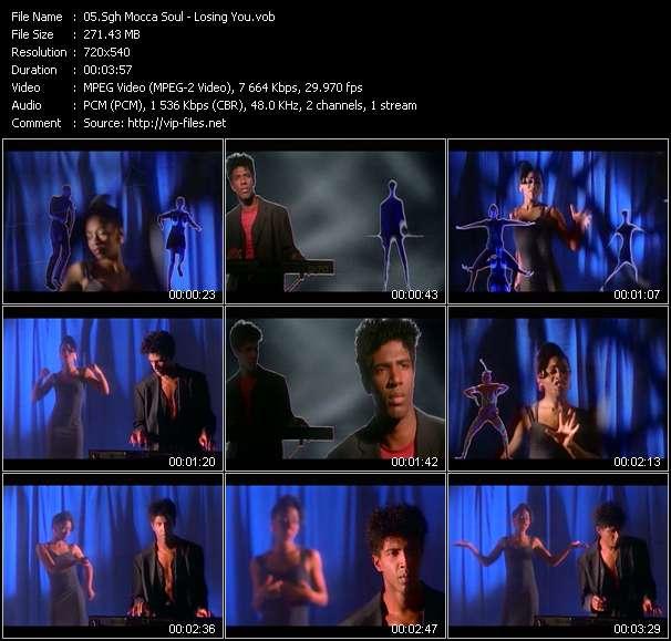 Screenshot of Music Video Sgh Mocca Soul - Losing You