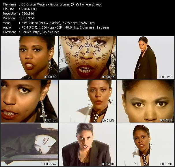 Crystal Waters video vob