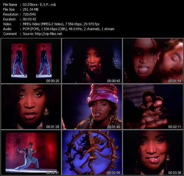 Screenshot of Music Video D'Bora - E.S.P.