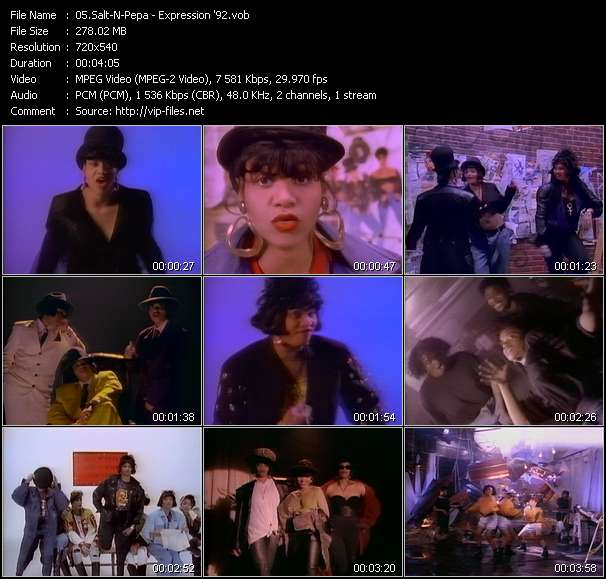 Salt-N-Pepa video vob