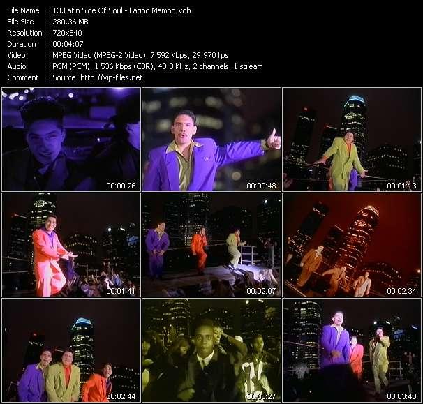 Screenshot of Music Video Latin Side Of Soul - Latino Mambo