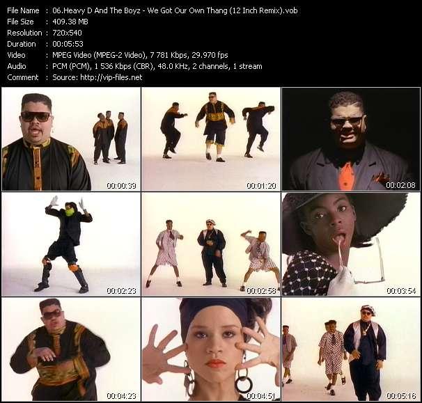 Heavy D And The Boyz clips musicaux vob