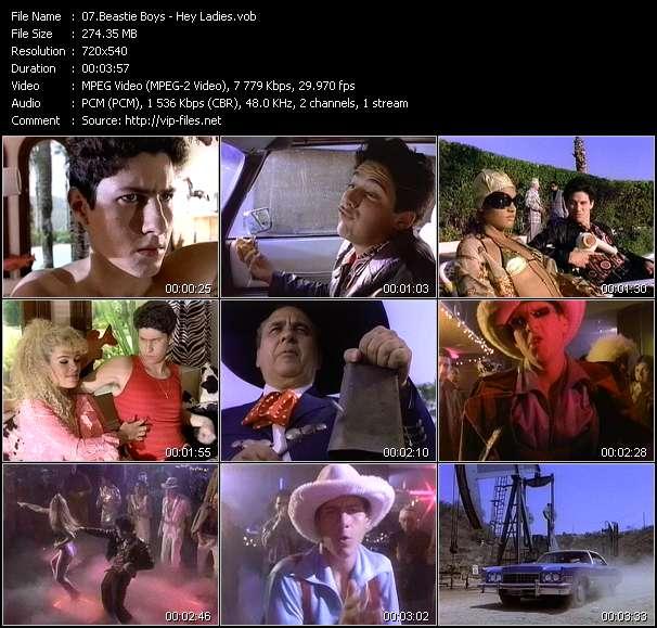 Beastie Boys clips musicaux vob