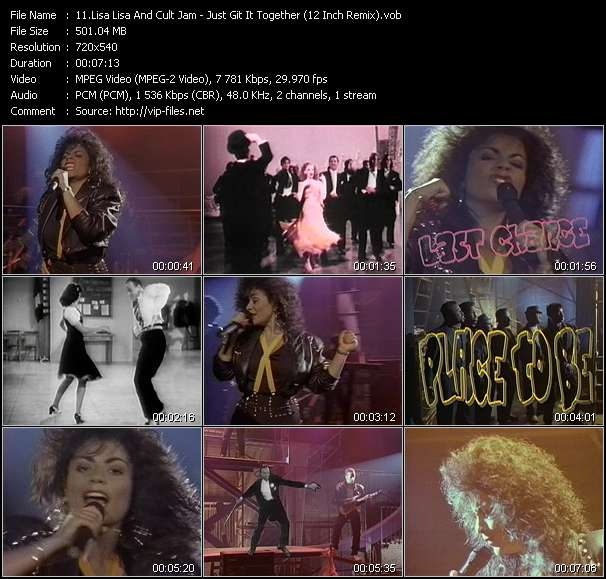 Lisa Lisa And Cult Jam video vob