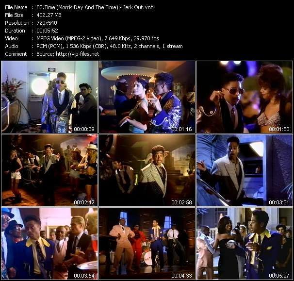 Time (Morris Day And The Time) видеоклип vob