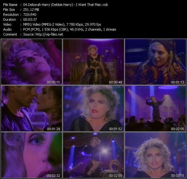 Deborah Harry (Debbie Harry) видеоклип vob