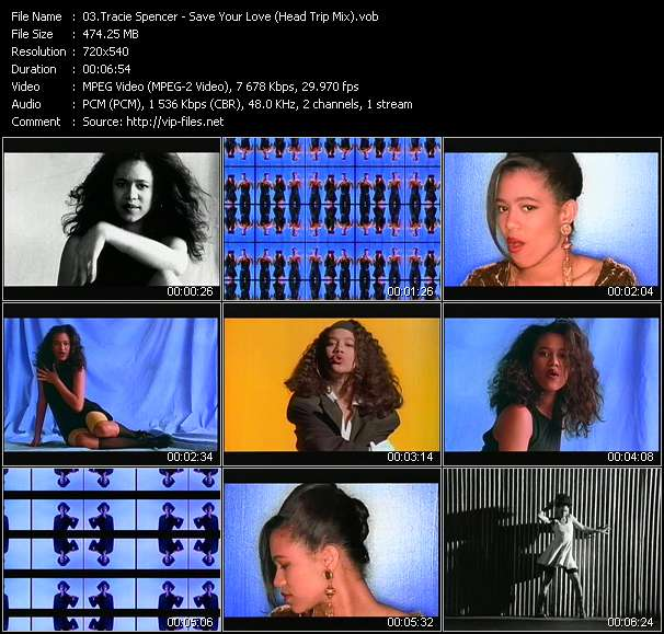 Tracie Spencer video vob
