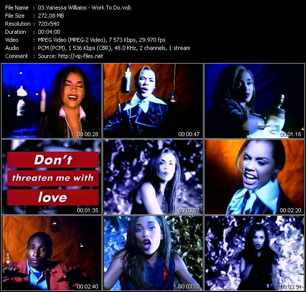 Vanessa Williams video vob