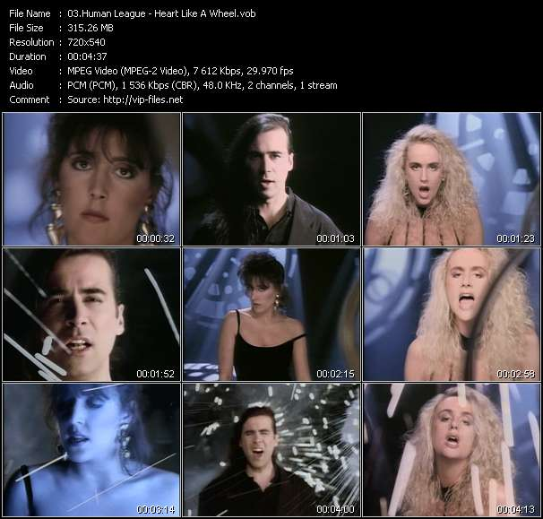 Human League video vob