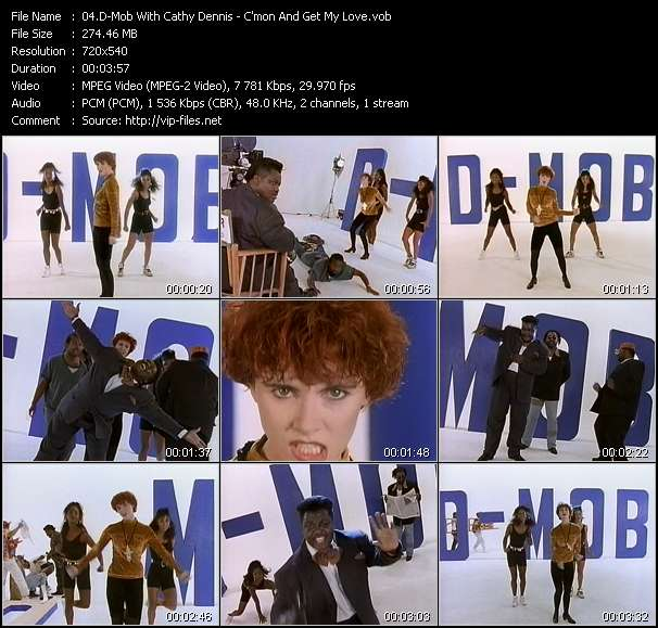 D-Mob With Cathy Dennis video vob
