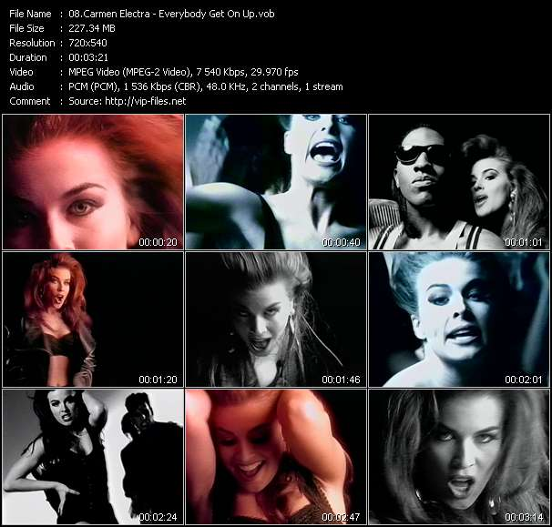 Carmen Electra video vob