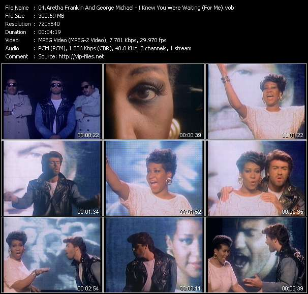 Aretha Franklin And George Michael clips musicaux vob