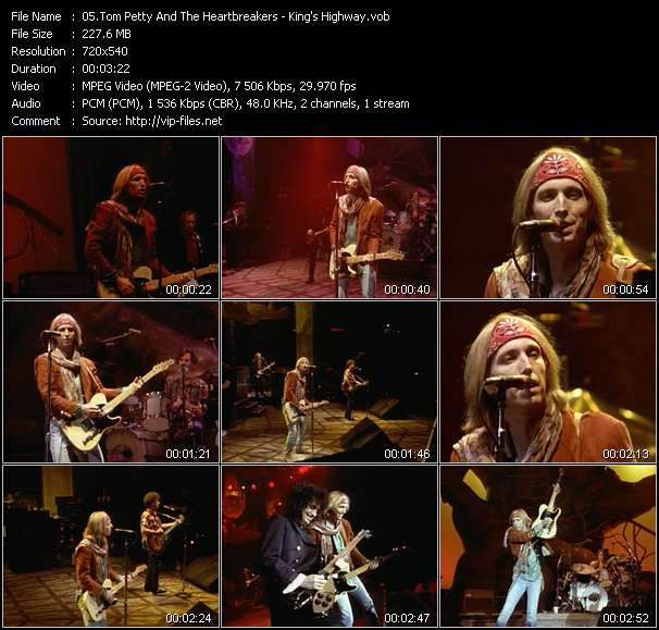 Tom Petty And The Heartbreakers video vob
