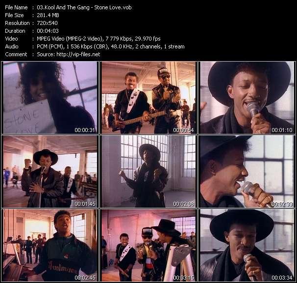 Screenshot of Music Video Kool And The Gang - Stone Love