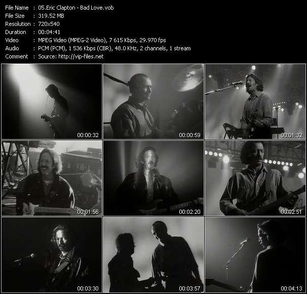 Eric Clapton video vob
