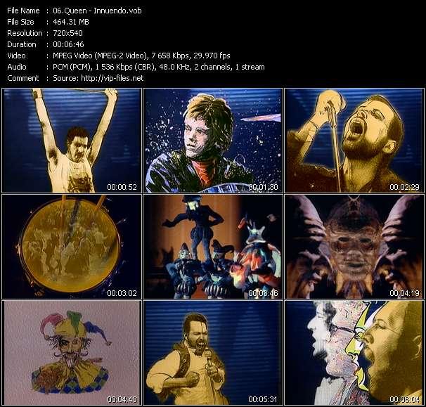 Screenshot of Music Video Queen - Innuendo