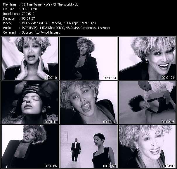 Tina Turner video vob
