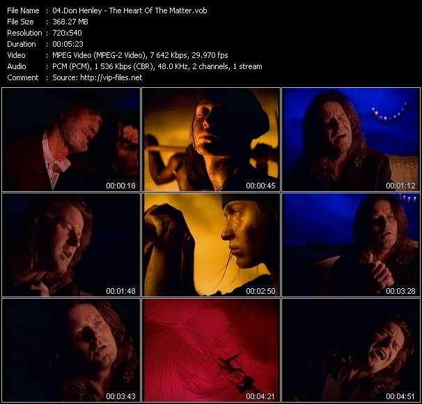 Don Henley video vob