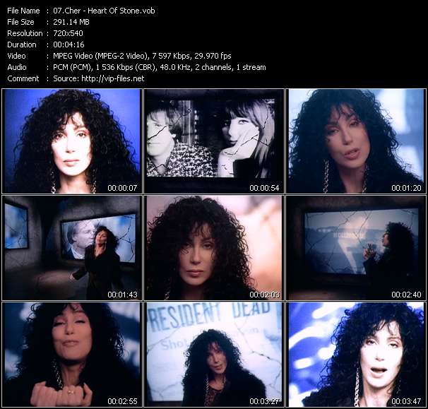 Cher video vob