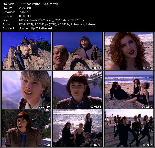 Wilson Phillips video vob