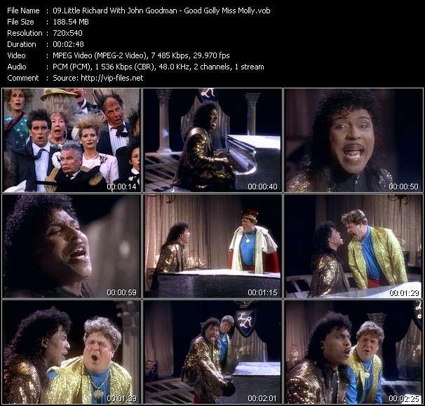 Little Richard With John Goodman video vob