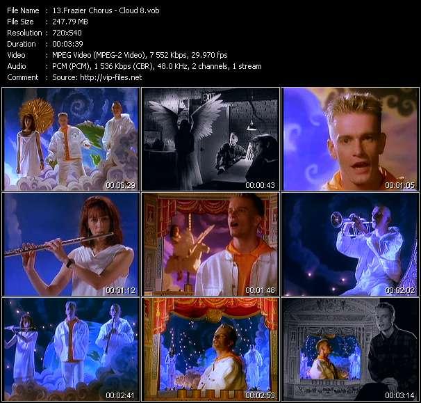 Screenshot of Music Video Frazier Chorus - Cloud 8
