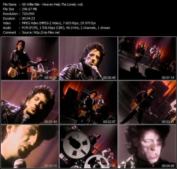 Willie Nile video vob