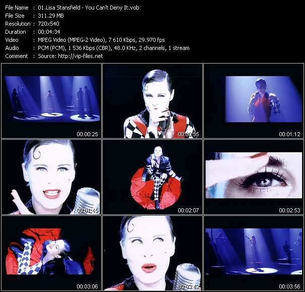 Screenshot of Music Video Lisa Stansfield - You Can't Deny It