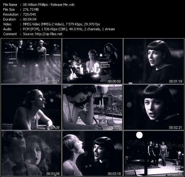 Screenshot of Music Video Wilson Phillips - Release Me