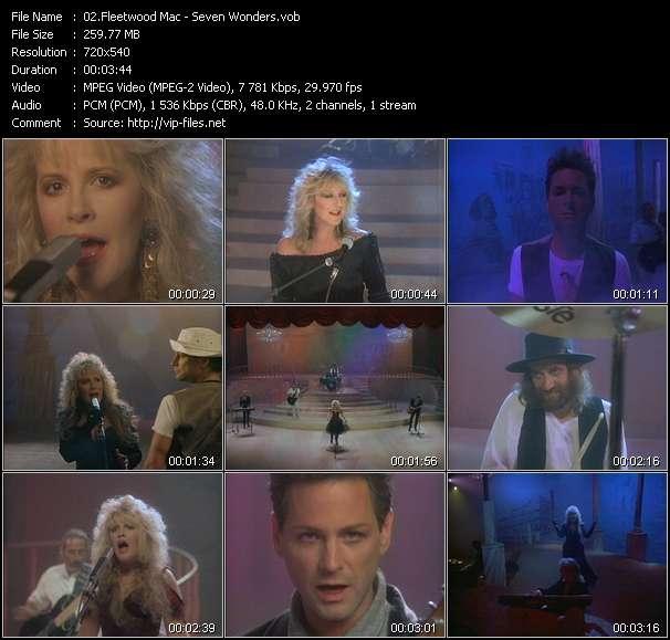 Fleetwood Mac video vob