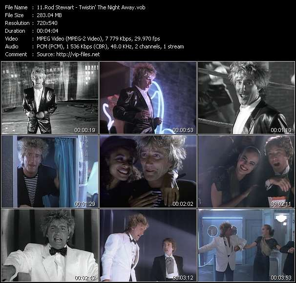 Rod Stewart video vob