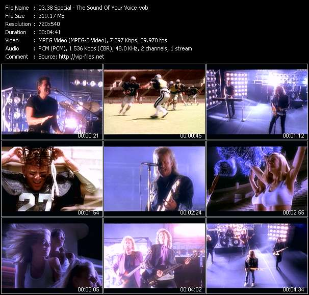 38 Special clips musicaux vob
